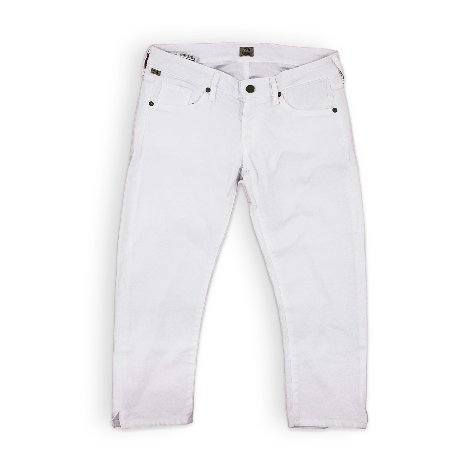 White Cropped Jeans - My New Find